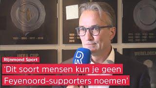 Feyenoord-directeur Koevermans over Union-belagers: 'Zo lang mogelijk het stadion uit krijgen'
