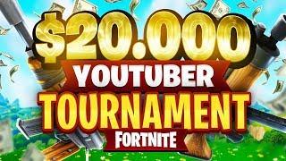 $20,000 YouTuber/Streamer FORTNITE TOURNAMENT (Week 3)