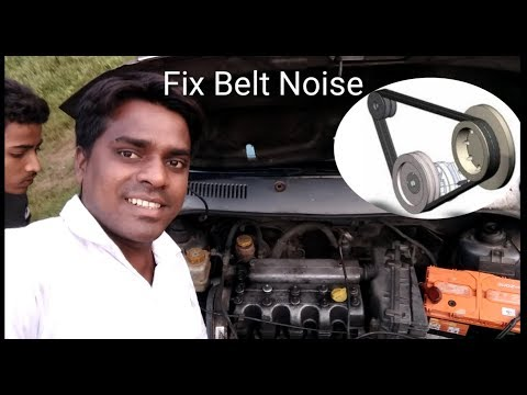 How to Fix a Squeaky Belt ( Tata indica Alternator Belt