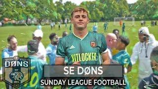 SE DONS vs KUMAZI STRIKERS   '1st vs 2nd'  Sunday League Football
