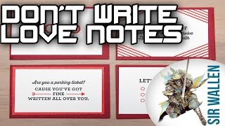 Don't Write Love Notes