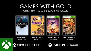 Games With Gold di dicembre