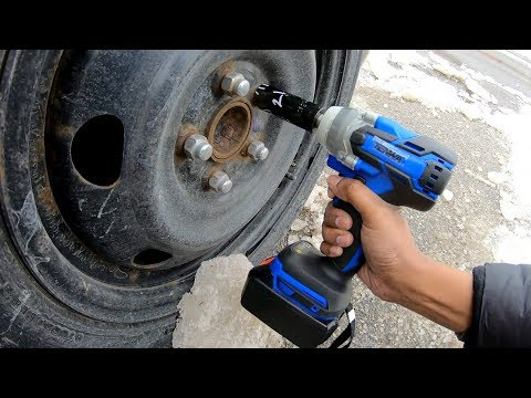 Tenwa Cordless Impact Wrench Review