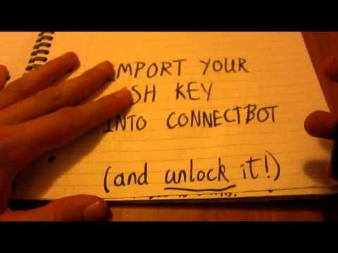 Video of ConnectBot (ssh-agent)