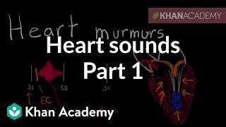 Systolic murmurs, diastolic murmurs, and extra heart sounds - Part 1 | NCLEX-RN | Khan Academy