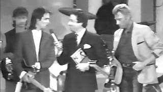 Johnny Hallyday  Je t'attends & JeanJacques Goldman  La vie par procuration ChampsÉlysées, 1986