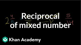 Reciprocal of a Mixed Number