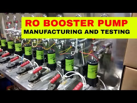 SWAN BOOSTER PUMP MANUFACTURING AND TESTING