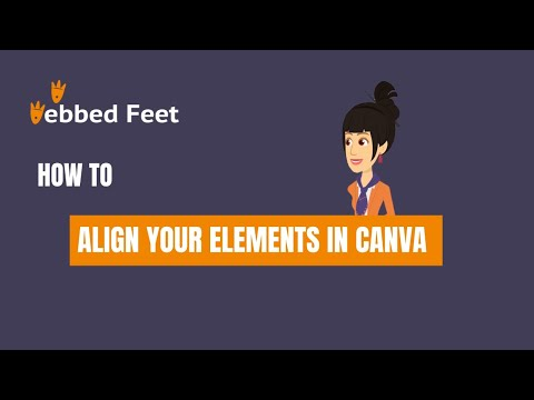 How to Align Your Elements in Canva