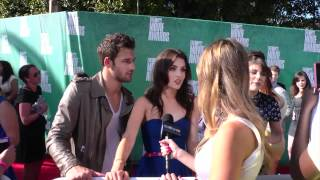 Райан Гузман, Ryan Guzman & Kathryn McCormick 'Step Up Revolution' Interview - 2012 MTV Movie Awards