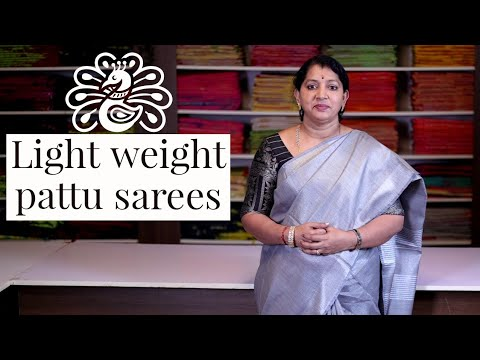 "<p style=""color: red"">Video : </p>New Light Weight Kanchi Pattu Sarees 