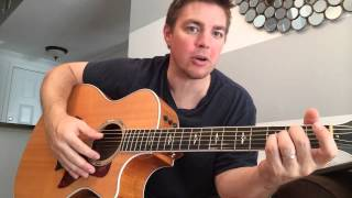 Old Blue Chair - Kenny Chesney (Beginner Guitar Lesson)