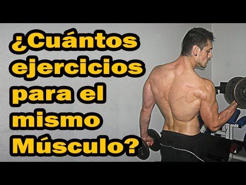 Los ejercicios los pechos, que contribuyen al aumento