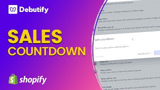 Sales countdown