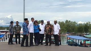 Jokowi Kunjungi Kampung Nelayan yang Direvitalisasi di Bengkulu