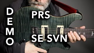 PRSSESVN7-StringGuitarDemo/Review