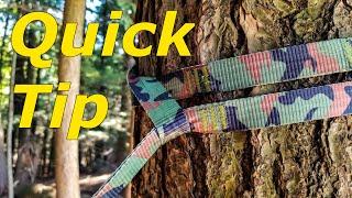 Quick Tip - Double Hammock Tree Straps