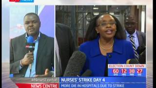 What the Mwananchi is going through-The situation in Nakuru county is deficient, Nurses strike