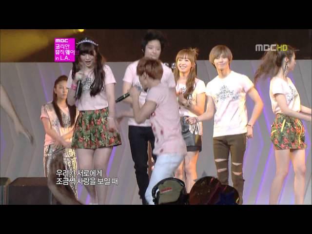 【SMTOWN】120719 MBC Korean Music Wave in LA - Hope