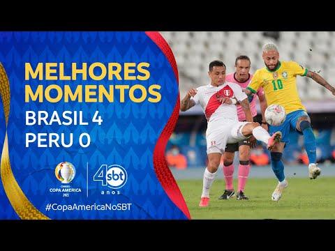 Vídeo / Brasil 4 x 0 Peru - Copa América 2021!