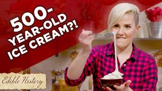 I Tried To Make 500-Year-Old Stretchy Ice Cream • Tasty