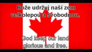 Kanadská hymna s titulky