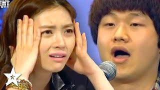 Judge's CAN'T Believe His VOICE on Korea's Got Talent | Got Talent Global