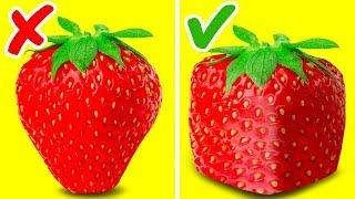 ٤٧ حيلة مذهلة للفاكهة