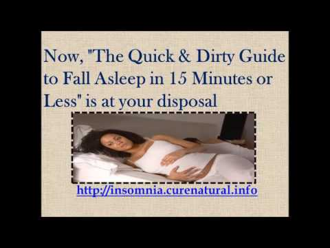 Cure Insomnia First Trimester Pregnancy