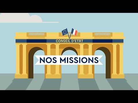 Video Les missions du Conseil d'Etat