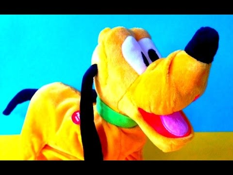 Disney Funny Pluto unboxing kids toys