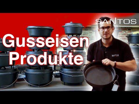 Dutch Oven, Ribroaster und Gusseiserne Pfannen erklärt vom weltgrößten Grillfachhandel Santos