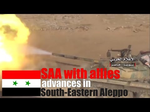 [Syria] December 17 - Syrian army with allies advances in South - Eastern Aleppo
