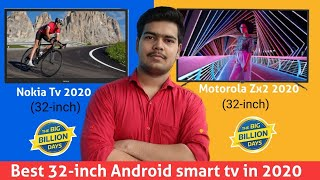 Nokia 32-inch VS Motorola Zx2 32-inch || Which is better??🤔 || Best 32-inch tv in 2020