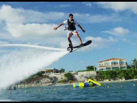 Video Olahraga Air Hoverboard Inovasi Baru dari Flyboard