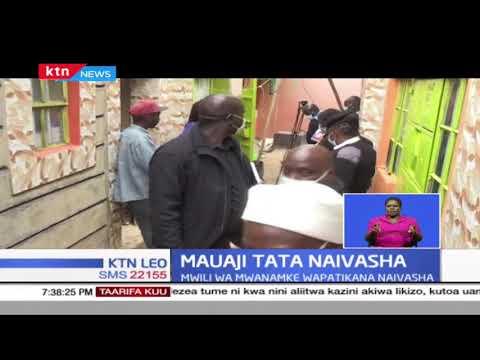 Utata umezunguka mauaji ya mwanamke mmoja wa umri wa miaka 30 mjini Naivasha