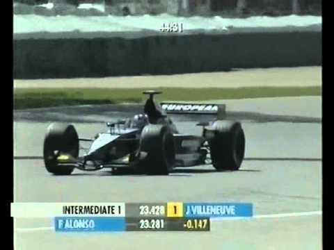 Image: Watch: 2001 American GP - Rookie Fernando Alonso takes provisional pole!