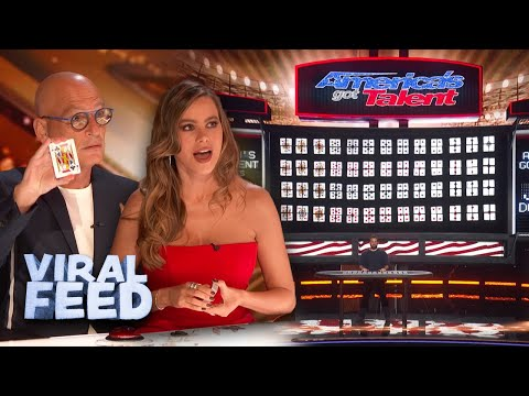AMAZING Giant Card Trick On America's Got Talent 2020 | VIRAL FEED