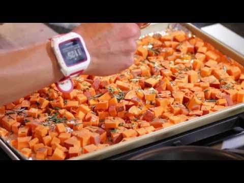 Video Healthy Sweet Potato Bites Recipe