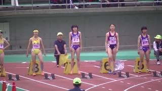 第70回石川県高等学校陸上競技対校選手権大会女子100m決勝