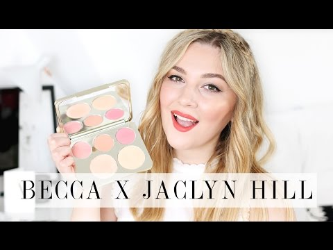 Becca X Jaclyn Hill Champagne Face Palette! First Impressions & GIVEAWAY | I Covet Thee