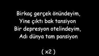 Norm Ender Depresyon Oteli Lyrics