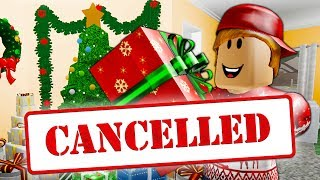 Christmas is Cancelled?! A Sad Roblox Movie