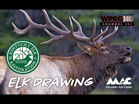 MAC Arts Elk Drawing 2018