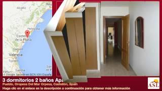 preview picture of video '3 dormitorios 2 baños Apartamento se Vende en Pueblo, Oropesa Del Mar Orpesa, Castellón, Spain'