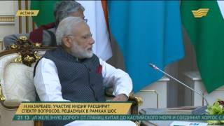 Президент Казахстана встретился с премьер-министром Индии