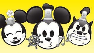 Steamboat Willie As Told By Emoji | Disney