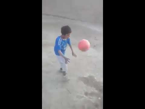 Video: 7-year-old Pakistani boy performs 221 kick-ups