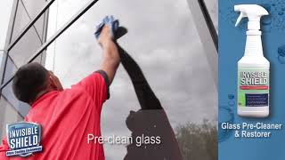 Invisible Shield Glass Coating Application