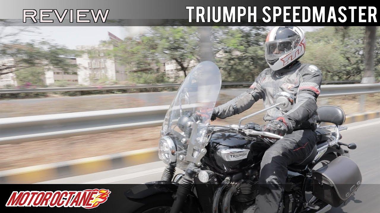 Motoroctane Youtube Video - Triumph Speedmaster Bonneville - What a bike! Hindi | MotorOctane